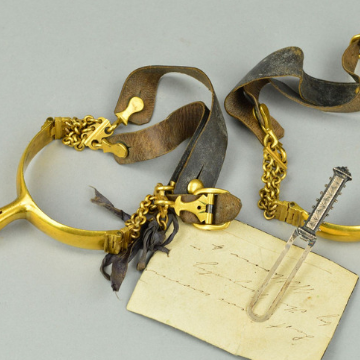 Genuine Fakes and 'King William IV's spurs' go under the hammer