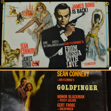 James Bond film posters feature in Collectors auction