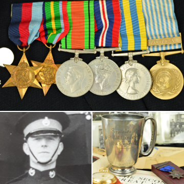 Medals and militaria sale is 'largest yet'