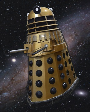 Lower bids exterminated as Doctor Who fan snaps up life-size Dalek at Toy Sale