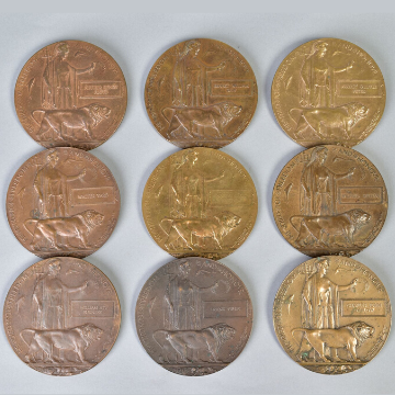 WW1 medals and militaria at auction