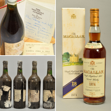 Stunning cellarful up for auction