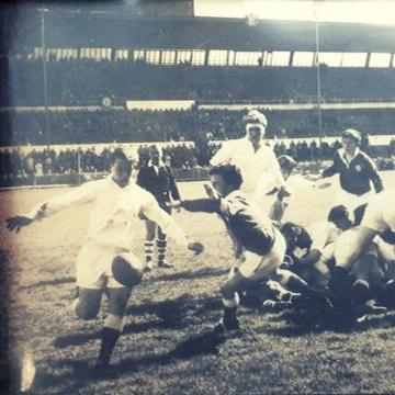 England Rugby star's sports memorabilia