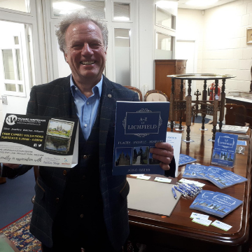 Lichfield author joins us for Library Sale