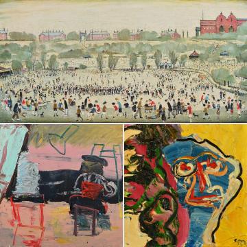 Paintings, prints and artistic treasures