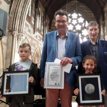 Children over the moon with St Mary's photography competition