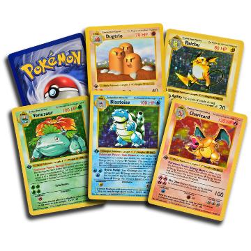 Complete 1st edition Pokemon base set