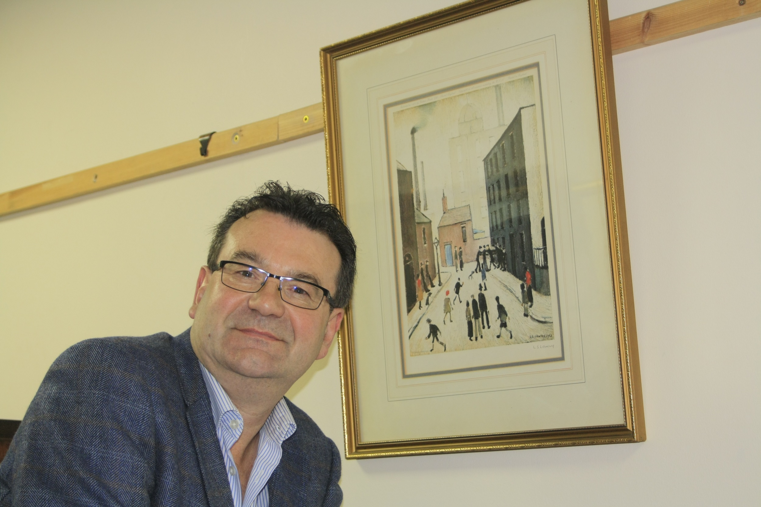 Richard Winterton searches for more masterpieces ahead of 'The Lowry Sale'