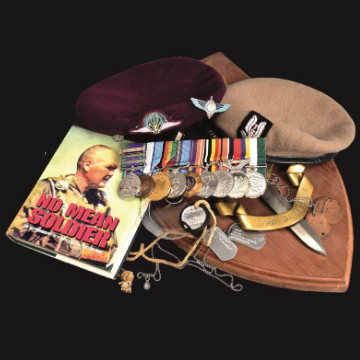 SAS soldier's medals archive in Fine Arts & Specialist Sale