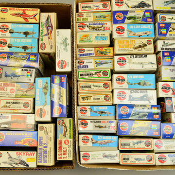 Massive model aircraft kit collection sells for £12,800