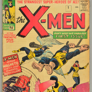 550 lots of comics in online-only auction