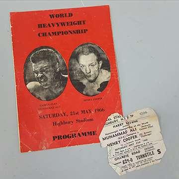 Muhammad Ali memorabilia