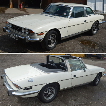 Classic 1973 Triumph Stag V8 at auction