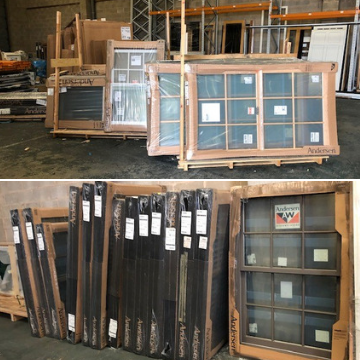 Windows and doors factory auction