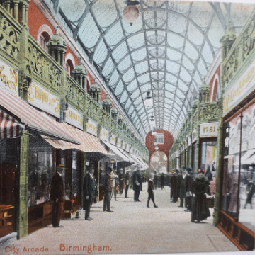 Birmingham postcards show 100 years of history
