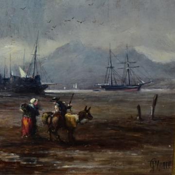 Array of antique art in Lichfield sale