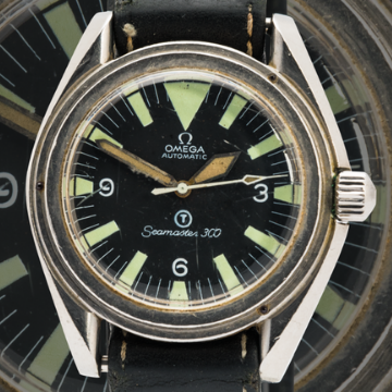 Rare Omega watch sells for £25,000