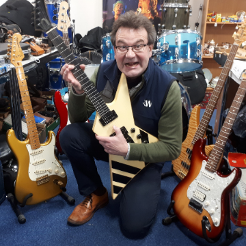 Drums and guitars galore in rock 'n' roll musical instruments auction