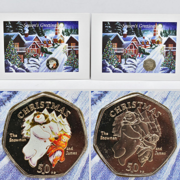 Isle of Man Christmas 50p coins sell for £9,640
