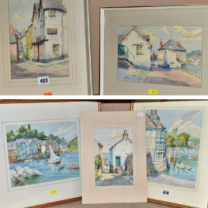 James Marshall Heseldin's paintings epitomise the timeless beauty of Cornwall.