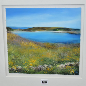 'Flowering Gorse, St Agnes' by Amanda Hoskin.