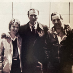 Craig Thomas and his wife Jill with Clint Eastwood. Photo courtesy of the Estate of Jill Thomas