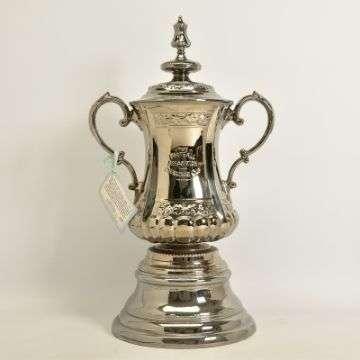 Goal! FA Cup replica scores £3,300 at Lichfield auction