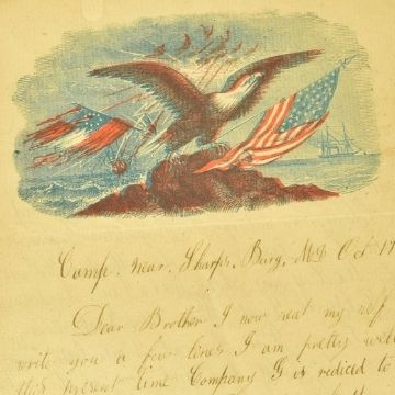 American Civil War soldiers' letters and early USA stamps in Lichfield auction