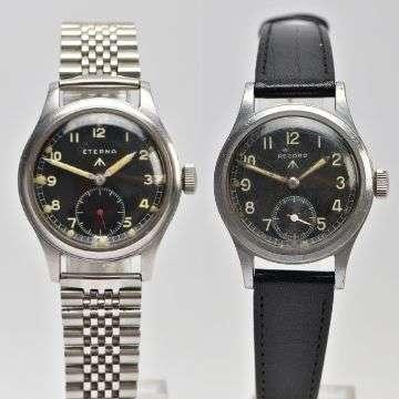 Attention! Dirty Dozen military watches to start bidding battle at Lichfield auction