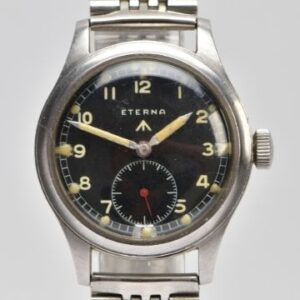 Monday 5th July 2021 As few as 5,000 of these wartime 'Dirty Dozen' watches are understood to have been produced by Eterna.