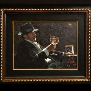 Fabian Perez 'Study For Tinto II' sold £4000