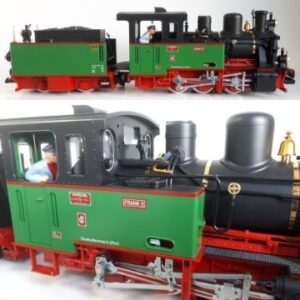 A G gauge locomotive. More than 100 lots of model railway items anticipated to realise up to £10,000 feature in the June 21 auction.