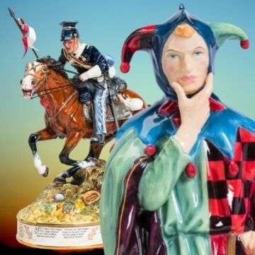 Super ceramics at Lichfield auction include Royal Doulton Prestige, Lladro, Beswick and Border Fine Arts