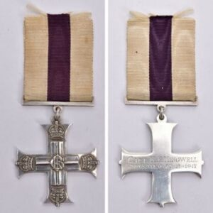 Militaria, Guns & Weapons auction Tuesday, June 15 This WW1 George V Military Cross was awarded to Captain Kenneth Francis Kingwell, who was wounded in Jerusalem in 1917.