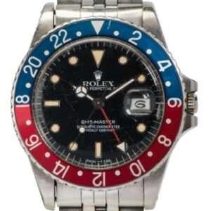Monday 5th July 2021 1985 Rolex GMT-Master model number 16750 calibre 3075 (Lot 138 est £9,000-£12,000).