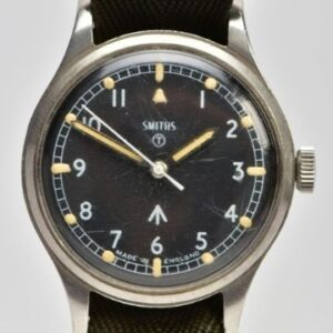 Monday 5th July 2021 A Smiths ref. W10 British Military wristwatch circa 1967 (est. £500-£700).