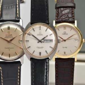 The Three Omegas... A Constellation, Seamaster Cosmic and 18ct gold De Ville.