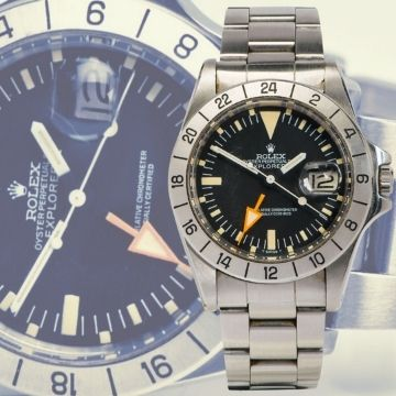 Lichfield auction one to watch as 1973 Rolex Explorer II sells for £18,500