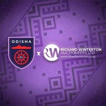 Richard Winterton Auctioneers sponsors Indian Super League football club Odisha FC